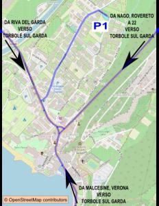 Parcheggi gratis a Torbole sul Garda