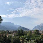 Vista su Arco e sul monte Brione