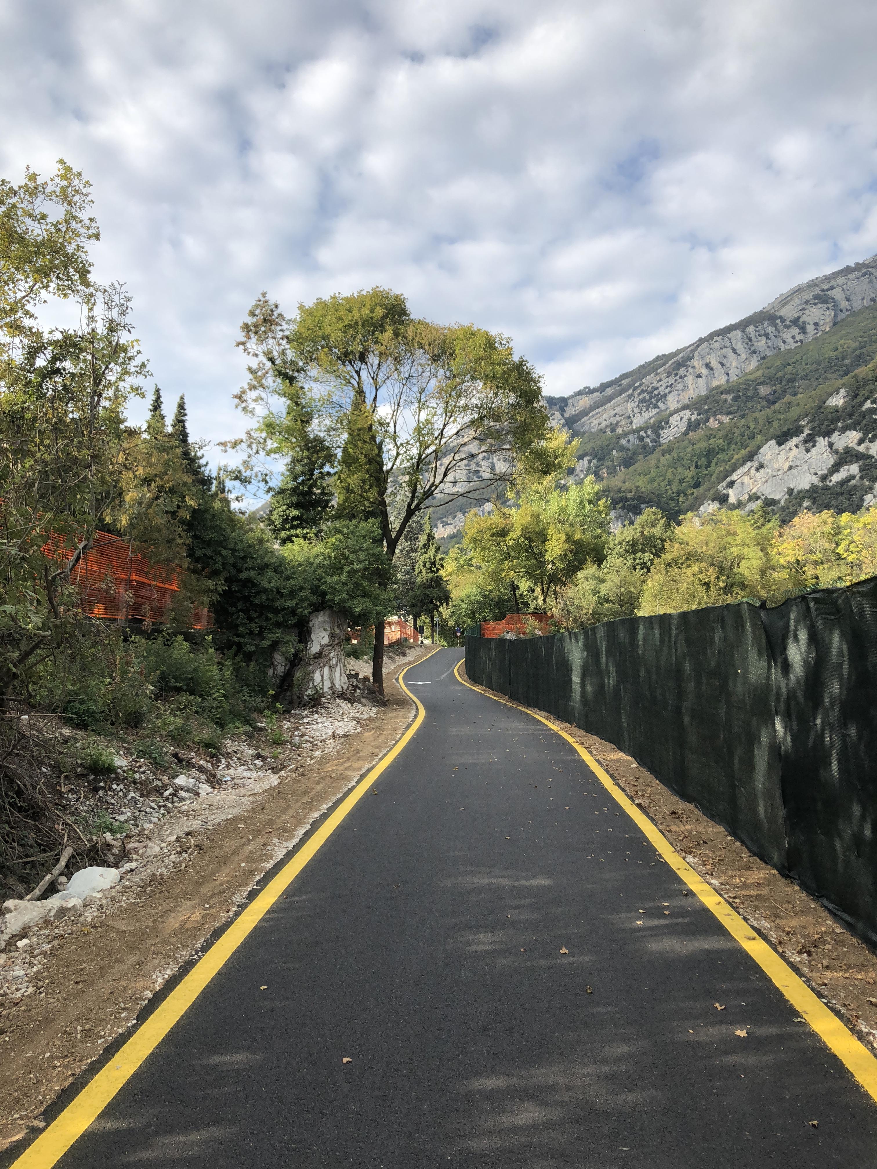 Aggiornamento ciclabile Rovereto Torbole sul Garda