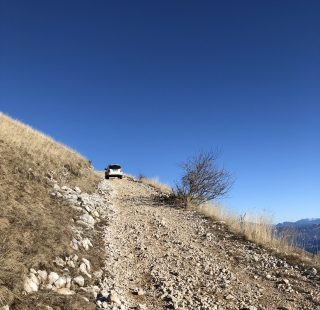 Salendo verso il rifugio Altissimo