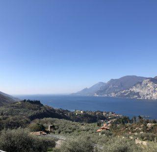 Panoramica alta di Malcesine