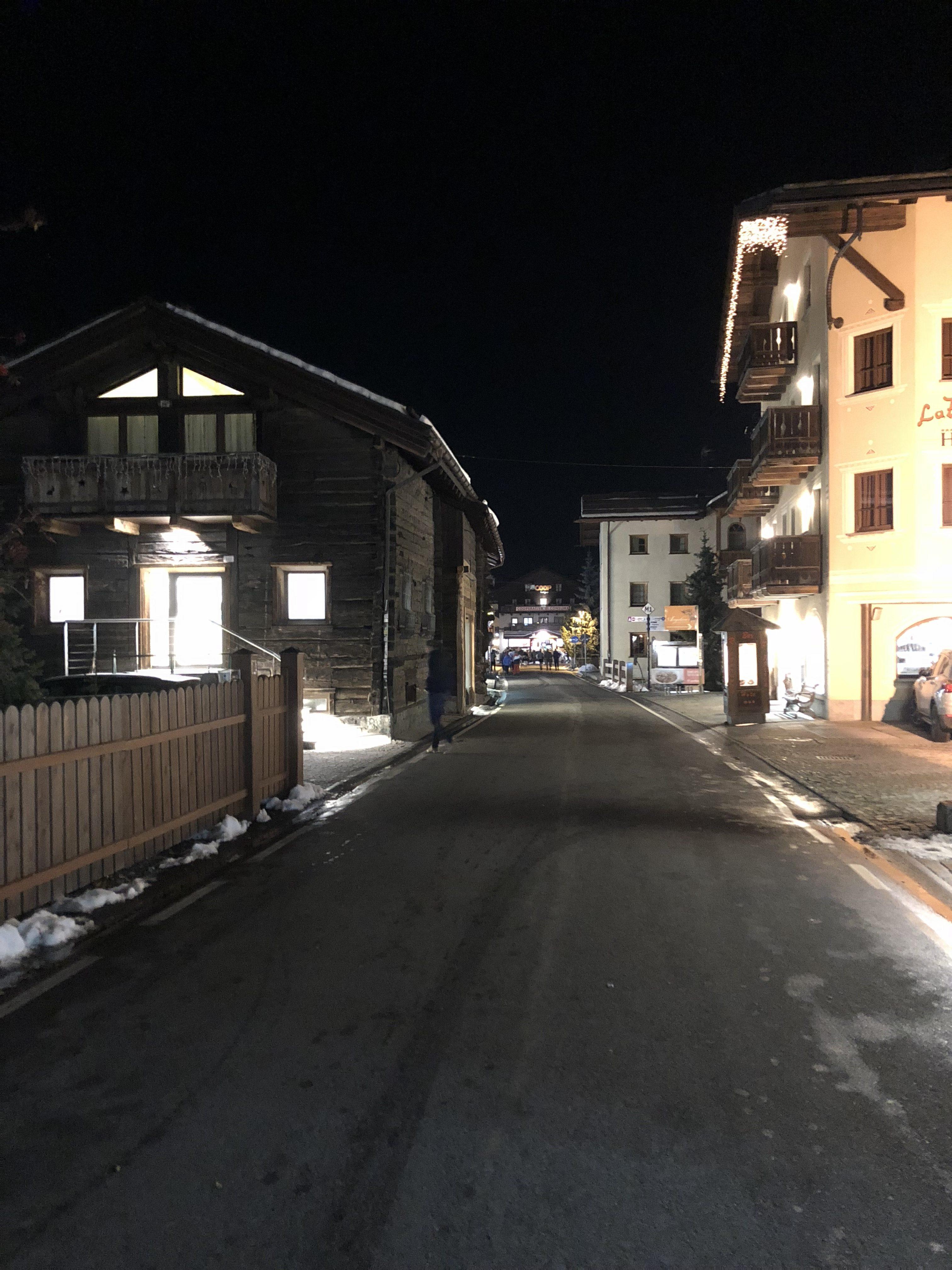 Livigno di notte