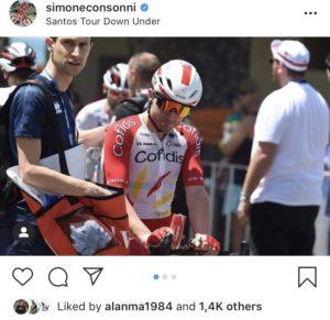Simone Consonni @Instagram