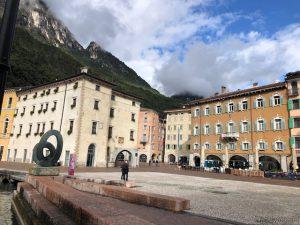 Piazza III Novembre a Riva del Garda