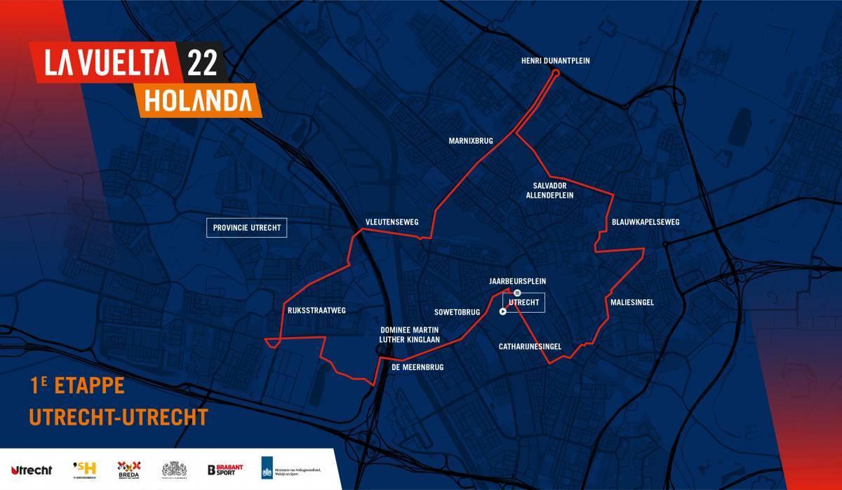 1 tappa mappa Vuelta 2022